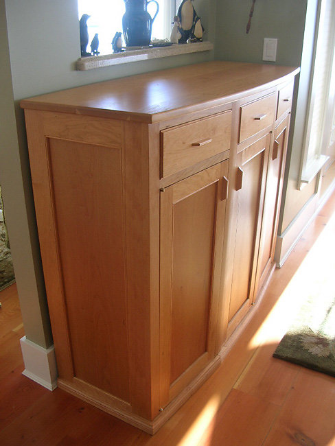 angled front buffet